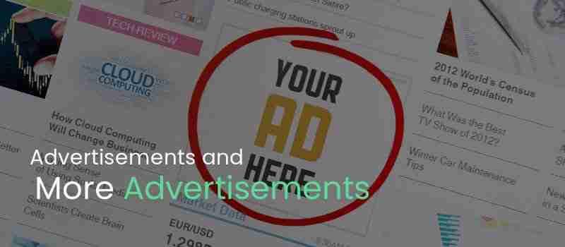 Do We Need Advertisements