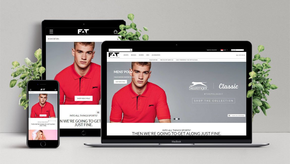 E-Commerce Web Design and Development for Fitness and Training