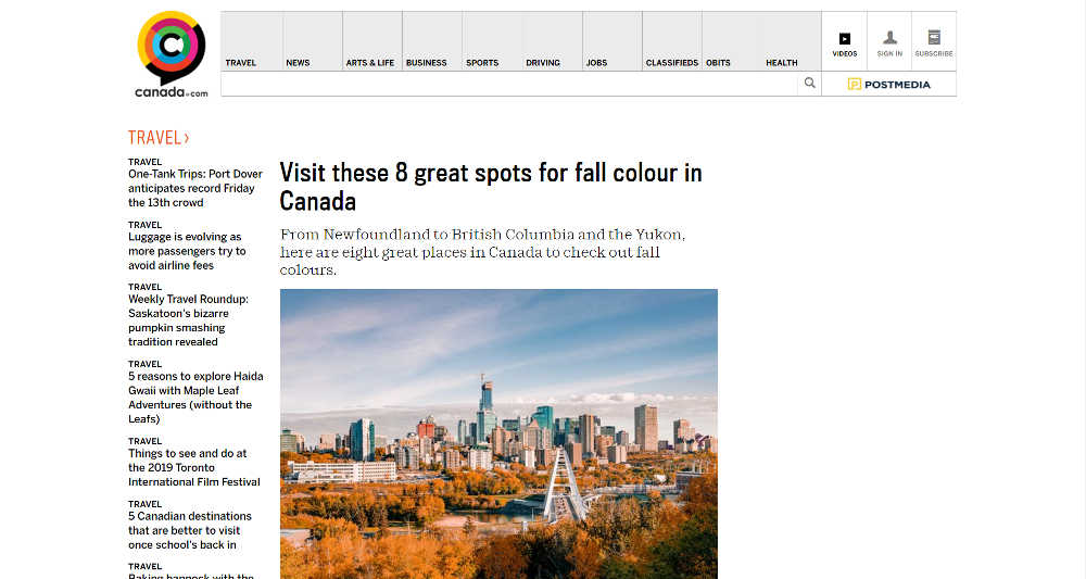 Canada Official WordPress Website