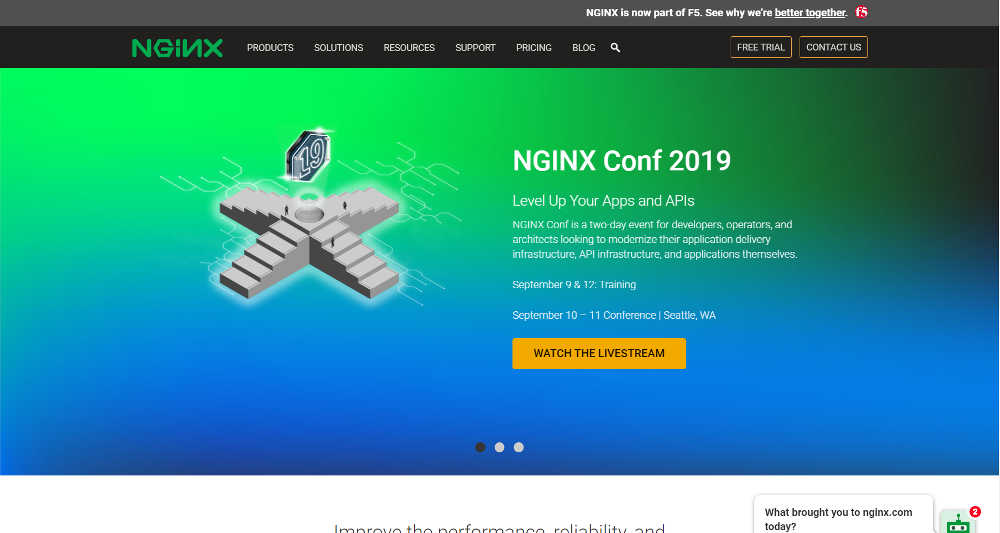 NGINX WordPress Website