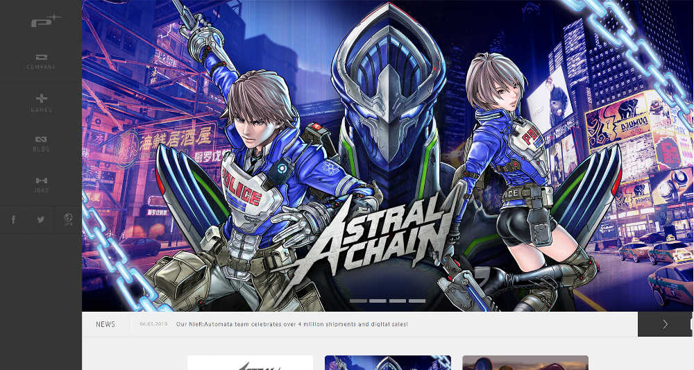PlatinumGames WordPress Website