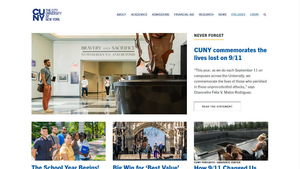 The City University of New York WordPress Website