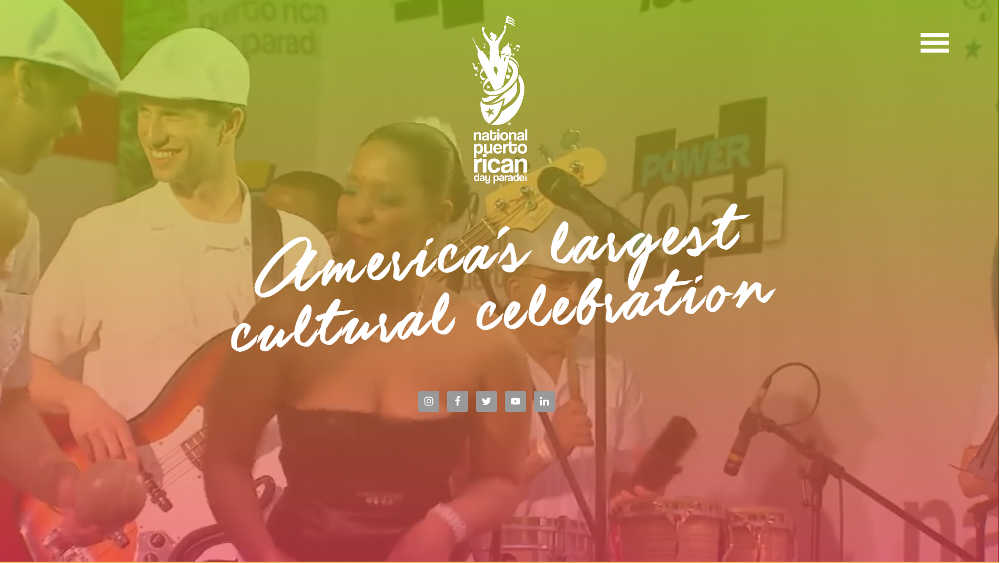 The National Puerto Rican Day Parade WordPress Website