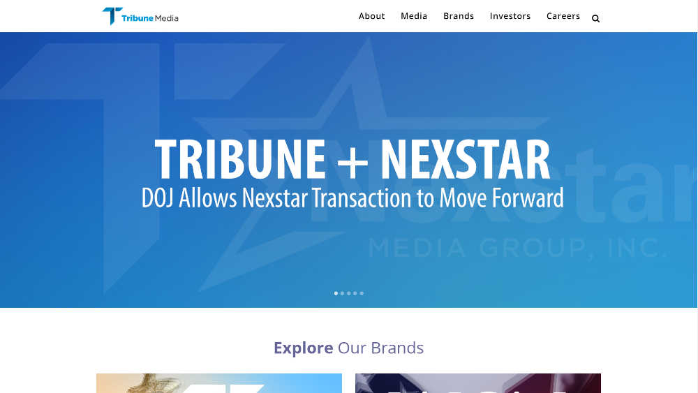 Tribune Media Group WordPress Website