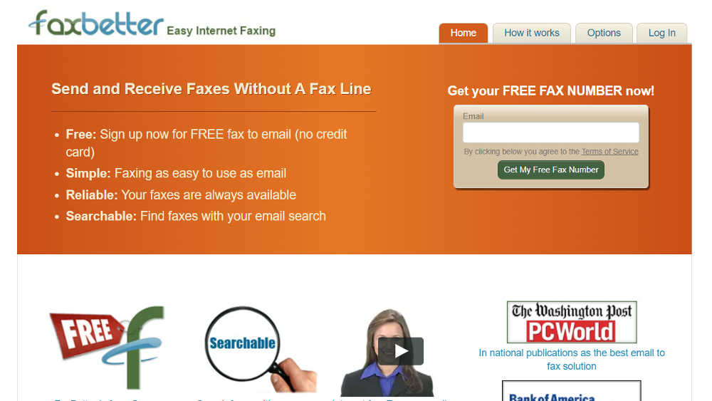 Free Online Fax Service: FaxBetter