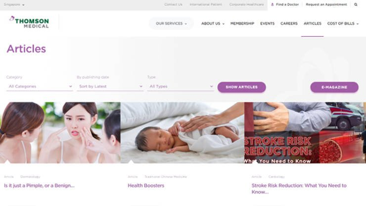 Thomson Medical Content Marketing Strategy