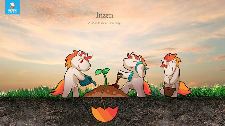 Gaming Company Website Singapore: Inzen Studios