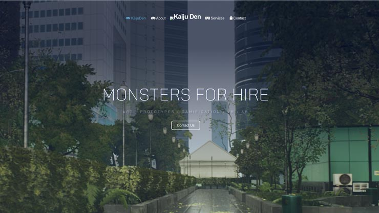 Gaming Company Website Singapore: Kaiju Den