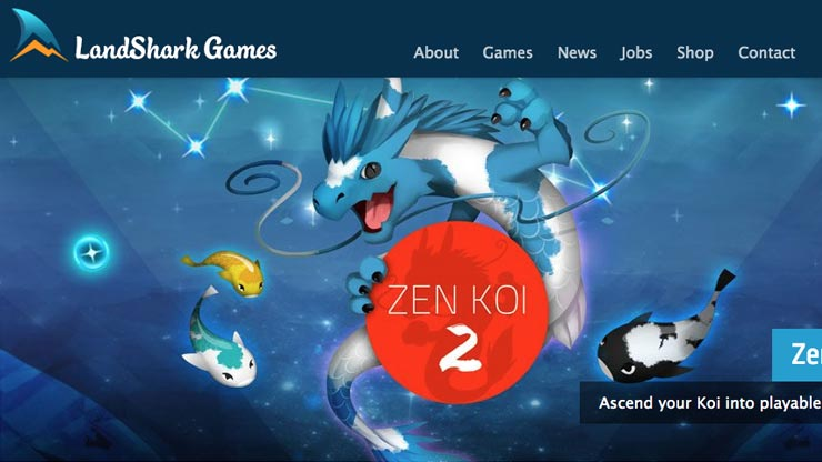 Gaming Company Website Singapore: LandShark Games