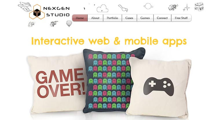 Gaming Company Website Singapore: Nexgen Studio
