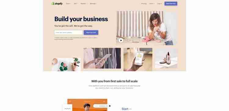Best Website Builders: Shopify
