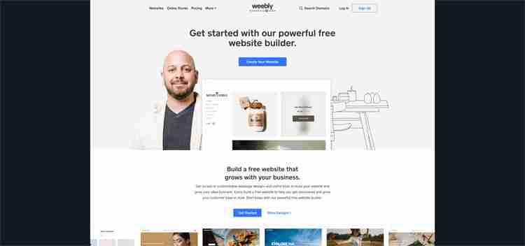 Best Website Builders: Weebly