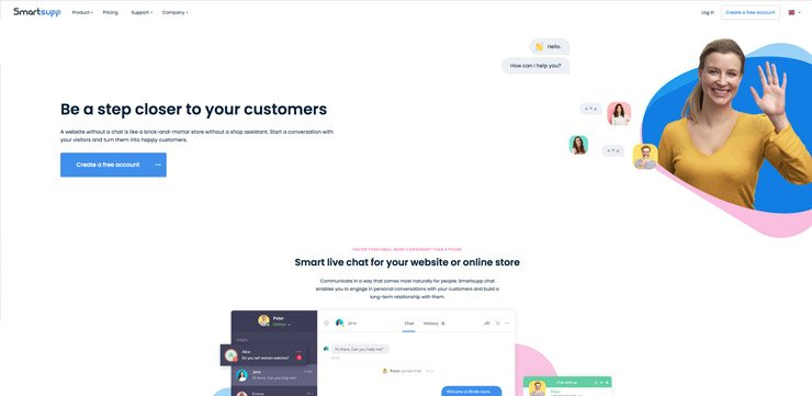 Website Chat Widget: Smartsupp