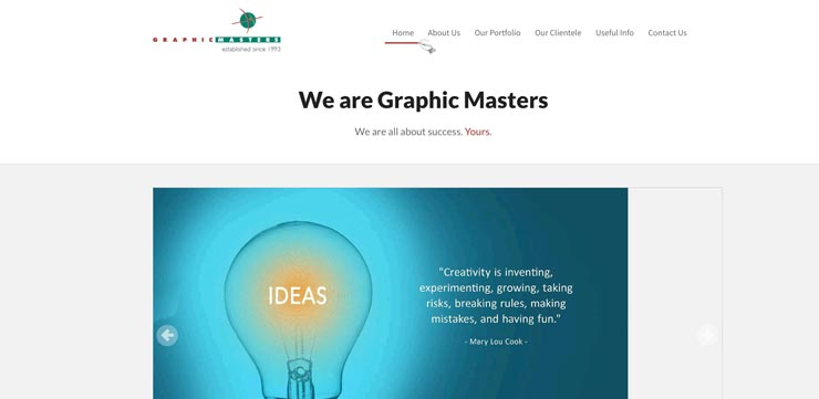Graphic Design Agency Singapore: Graphic Masters