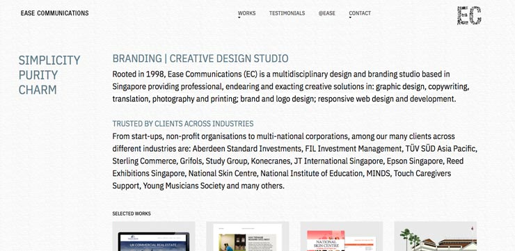 Graphic Design Company Singapore: Ease Communications