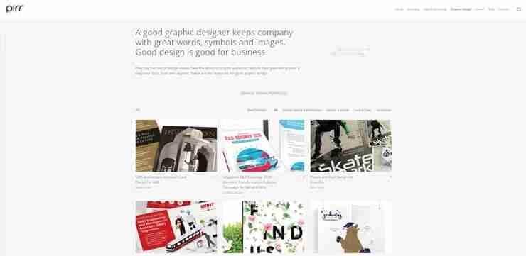 Graphic Design Company Singapore: PIRR Creatives