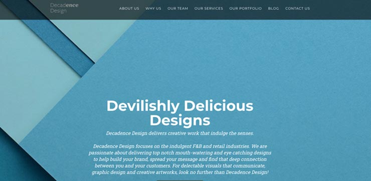 Graphic Design Firm Singapore: Decadence Design
