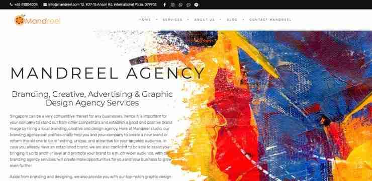 Graphic Design Firm Singapore: Mandreel