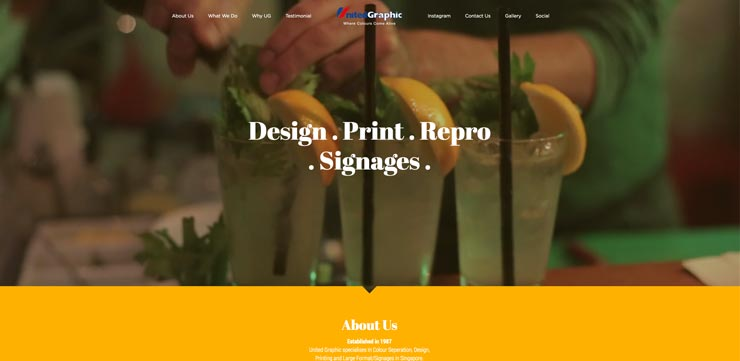 Graphic Design Studio Singapore: United Graphic