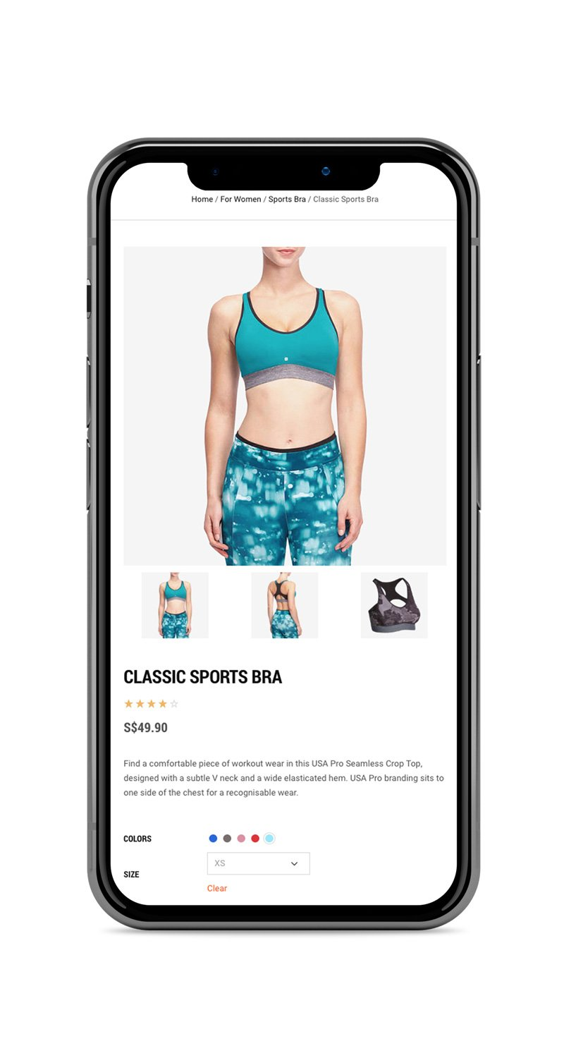 Mobile Friendly Website: Fitness and Training