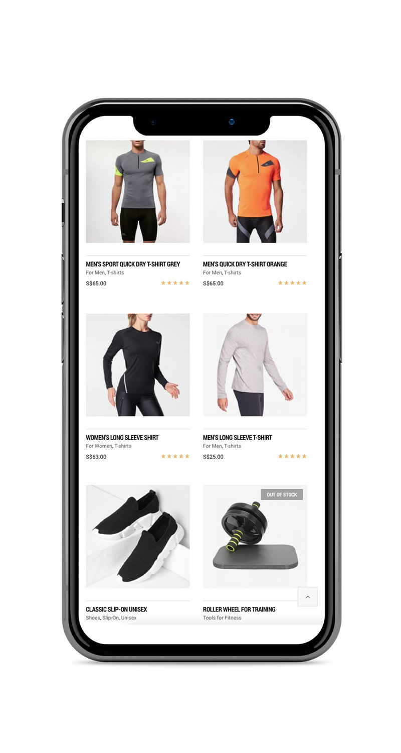 Mobile Responsive Website: Fitness and Training