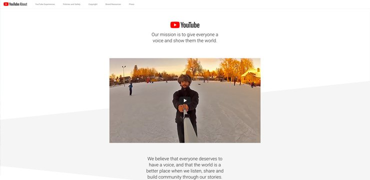 Social Media Platforms: YouTube