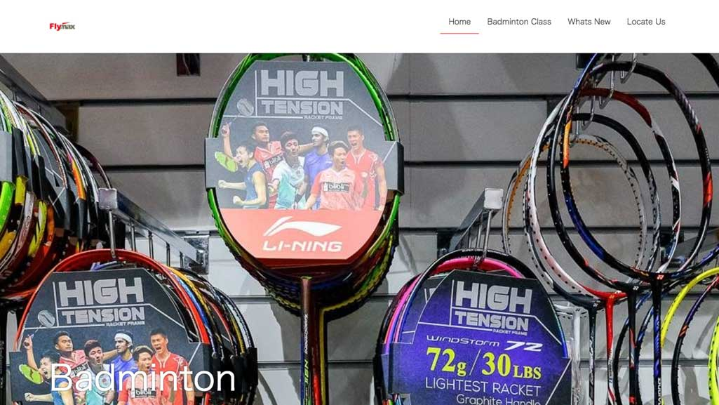 Badminton Outlets Singapore: Flymax
