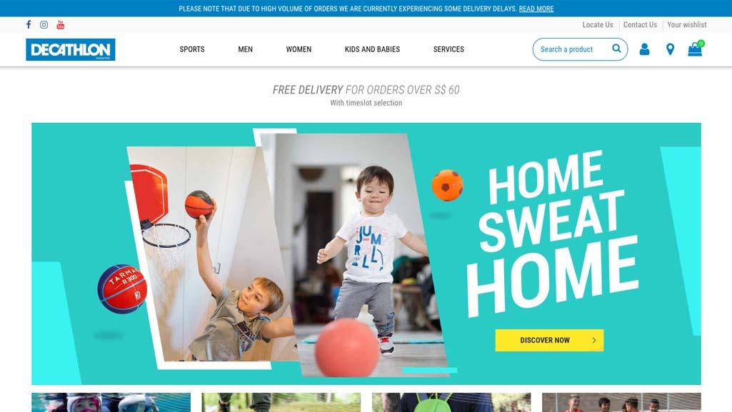 Badminton Shops Singapore: Decathlon