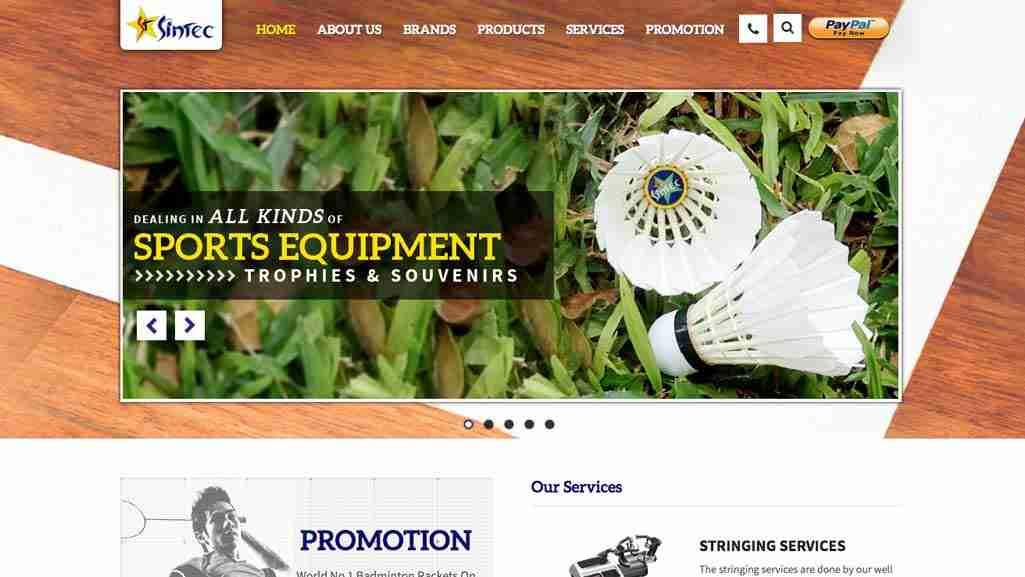 Badminton Shops Singapore: Sintec SportCity