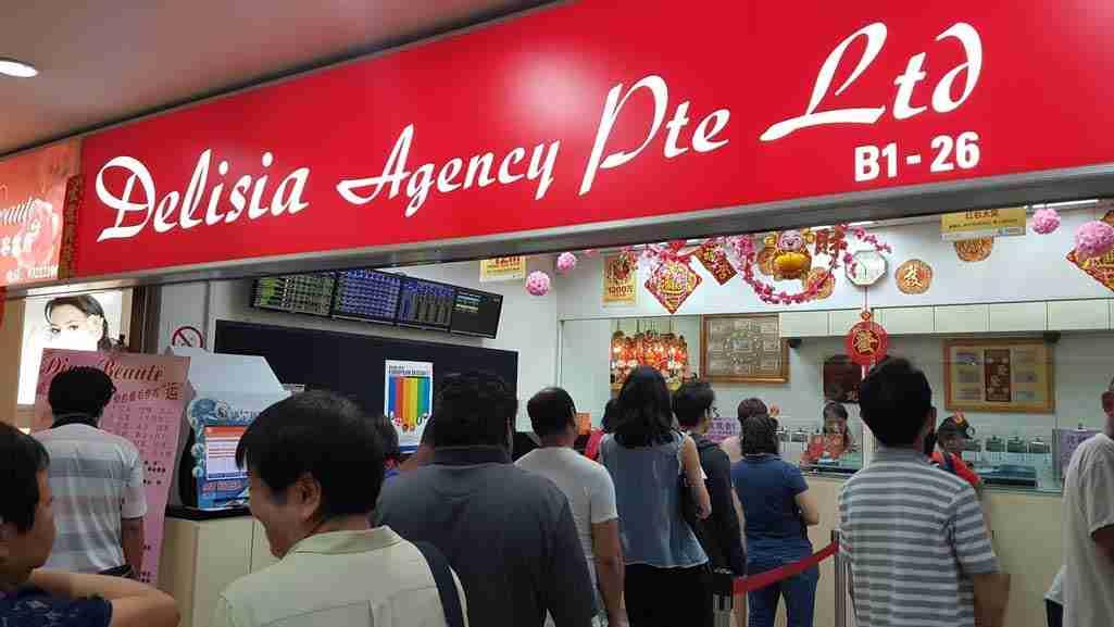 Singapore Pools Outlets Delisia Agency Pte Ltd