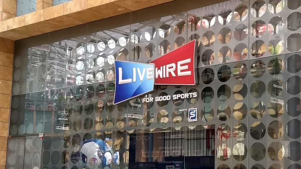 Singapore Pools Outlets: Livewire Resorts World Sentosa
