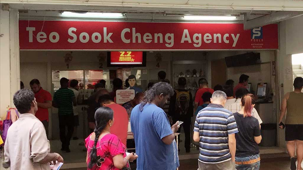 Singapore Pools Outlets: Teo Sook Cheng Agency