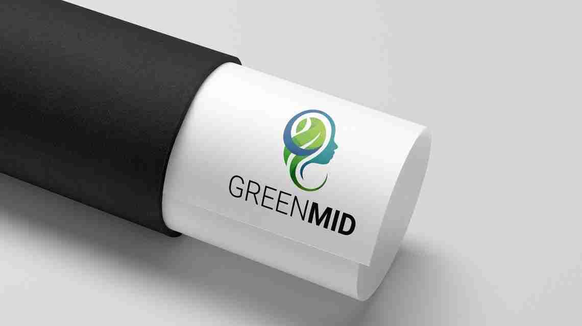GreenMid logo letter