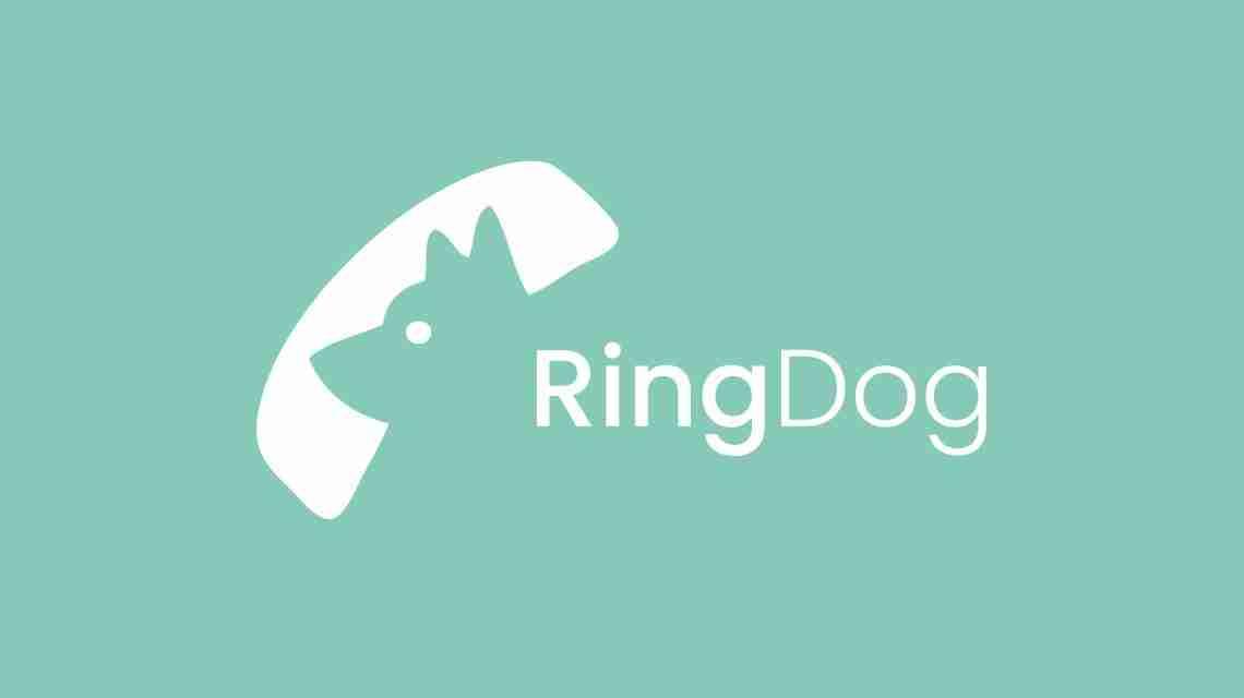 RingDog Logo White