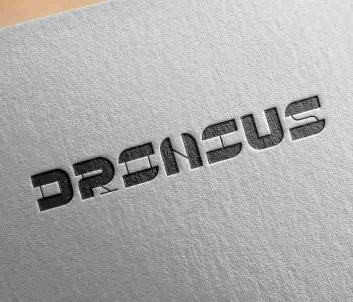 logo design work for Dronius