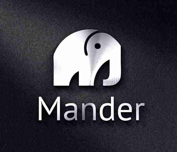 Logo Design Work: Mander