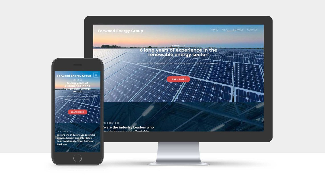 Website Design for Forwood Energy Group