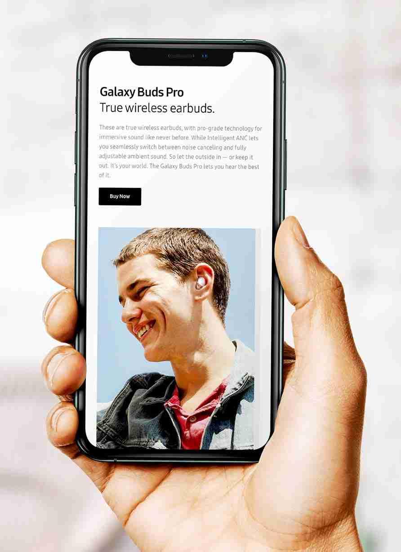 Portfolio: Samsung
