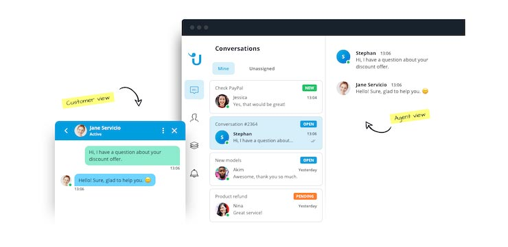 Live Chat Solutions: Userlike