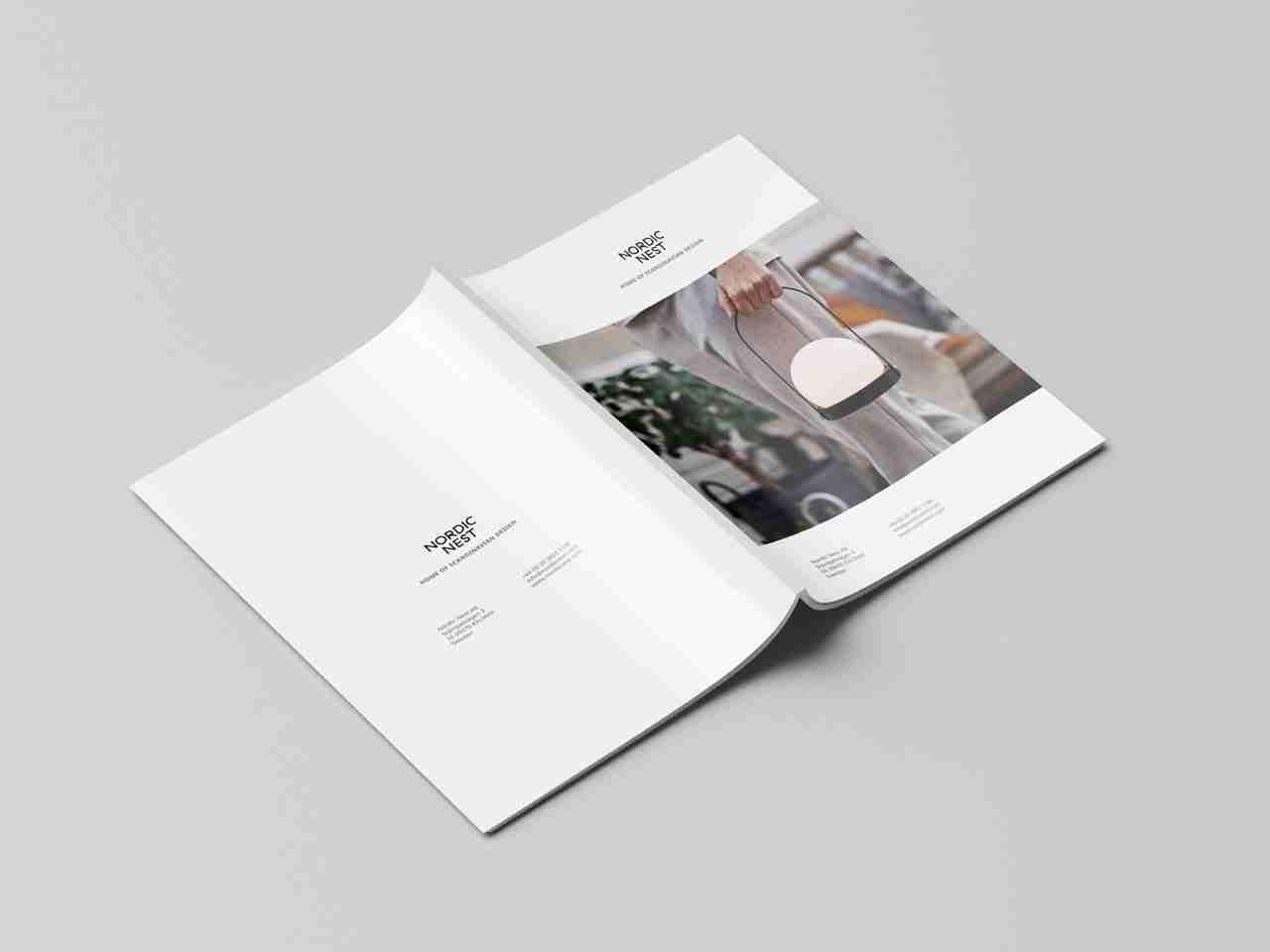 Brochure Design for Nordic Nest