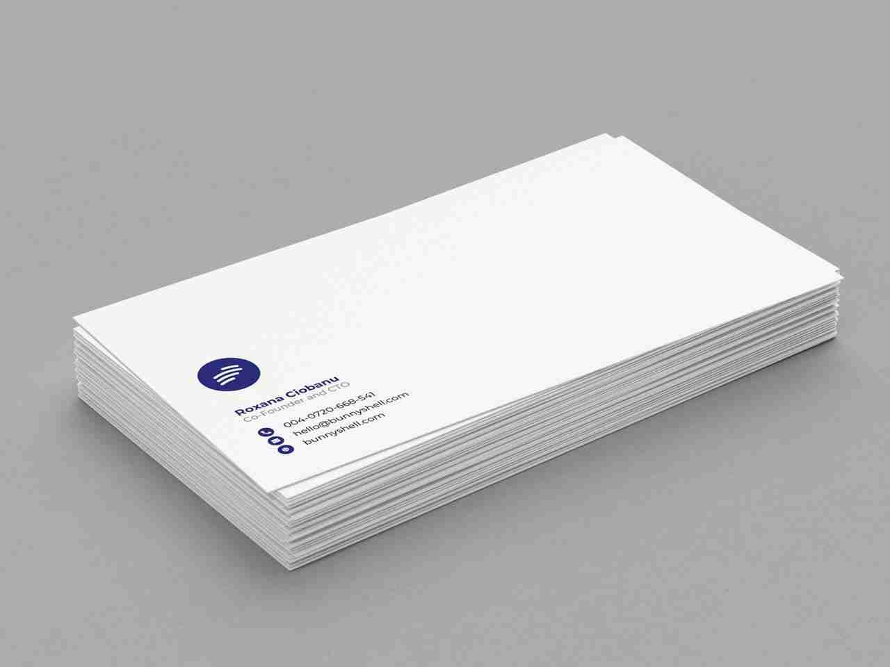Name Card Design for BunnyShell