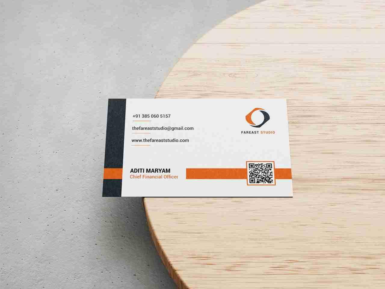 Name Card Design for FarEast Studio