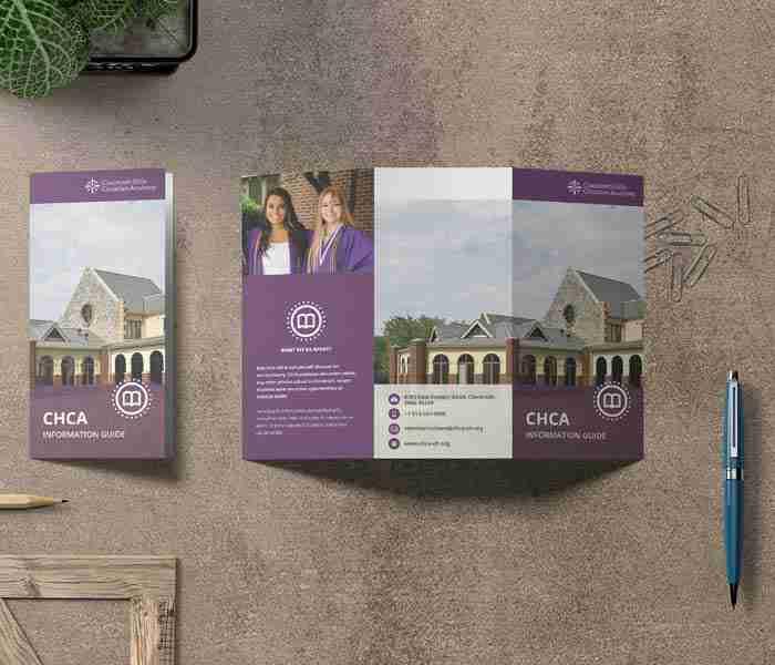 Tri-Fold Brochure Design for CHCG