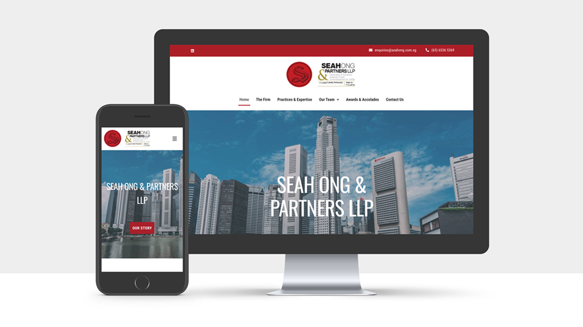 Website Redesign for Seah Ong & Partners LLP