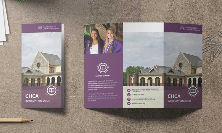 Brochure Design: Cincinnati Hills Christian Academy