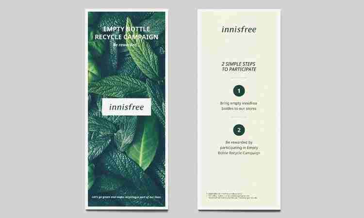 Brochure and Flyer Design: innisfree