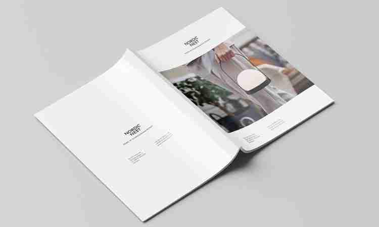 Brochure Design: Nordic Nest