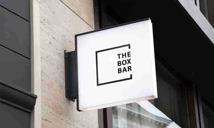 Logo Design for The Box Bar