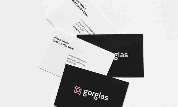 Name Card Design for Gorgias