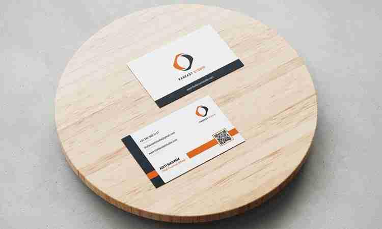 Visiting Card Design: FarEast Studio